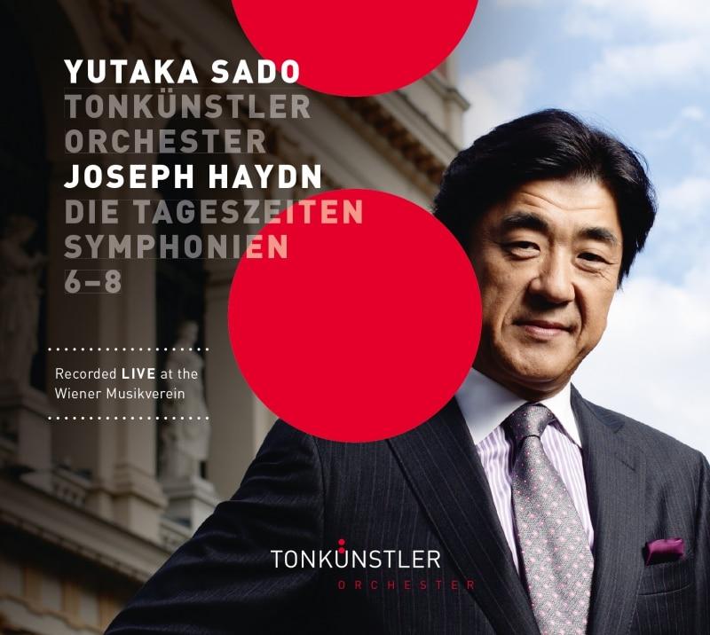 ハイドン:交響曲《朝》《昼》《晩》 / 佐渡裕 指揮 トーンキュンストラ―管弦楽団