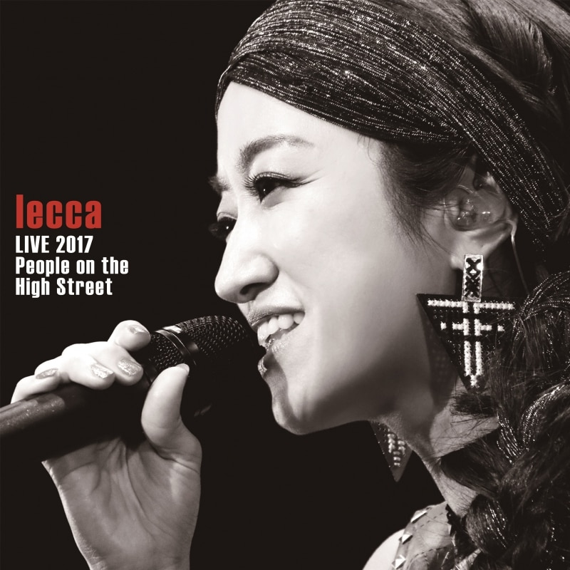 LIVE DVD/Blu-ray『lecca LIVE 2017 People on the High Street』ジャケット写真公開!