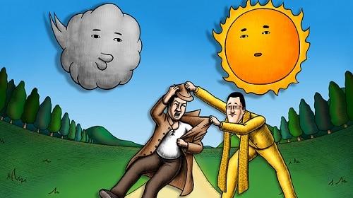 9/6公開 TV放送版 <br /> 第6話「北風と太陽」