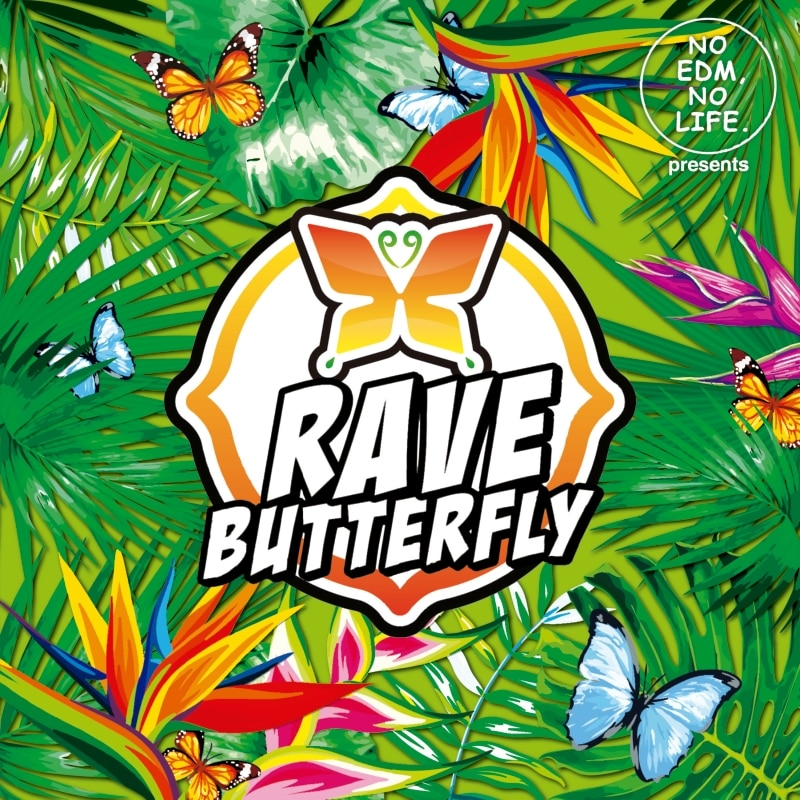 NO EDM, NO LIFE. Presents RAVE BUTTERFLY