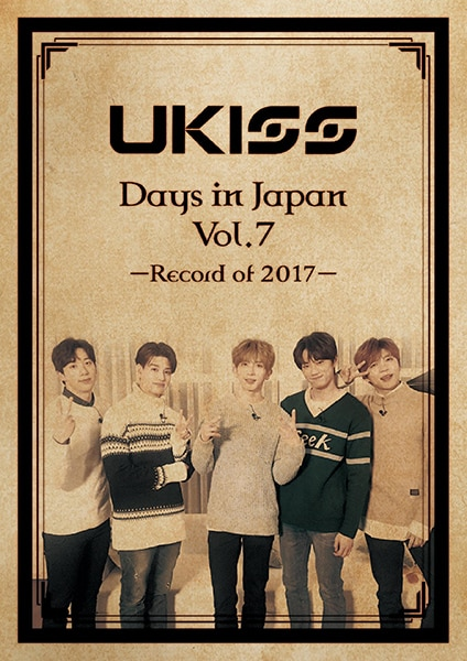 U-KISS Days in Japan vol.7