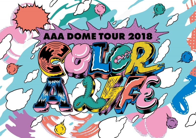 [DVD] AAA DOME TOUR 2018 COLOR A LIFE (スマプラ対応)
