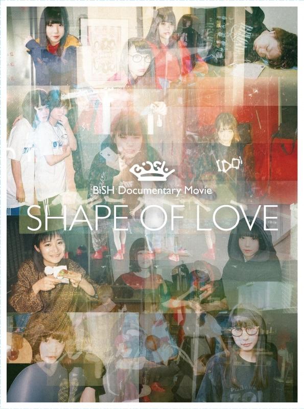 """タイトル:BiSH Documentary Movie """"SHAPE OF LOVE""""[初回生産限定盤] 発売日:2018年8月29日"""