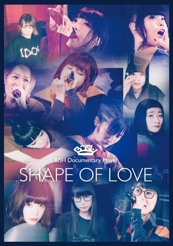 """タイトル:BiSH Documentary Movie """"SHAPE OF LOVE""""[通常盤] 発売日:2018年8月29日"""