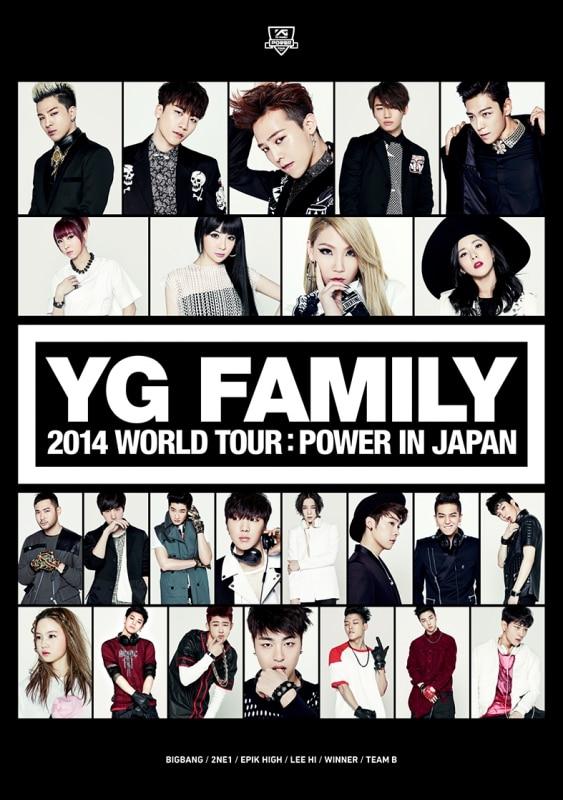 YG FAMILY WORLD TOUR 2014 -POWER- in Japan