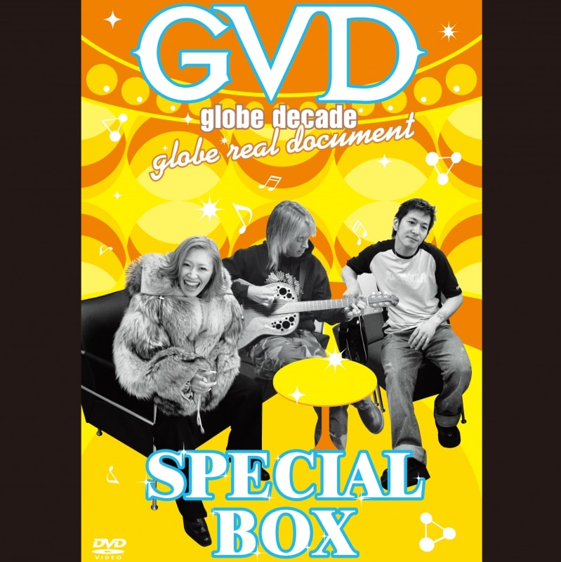 GVD  globe decade  globe real document  SPECIAL BOX