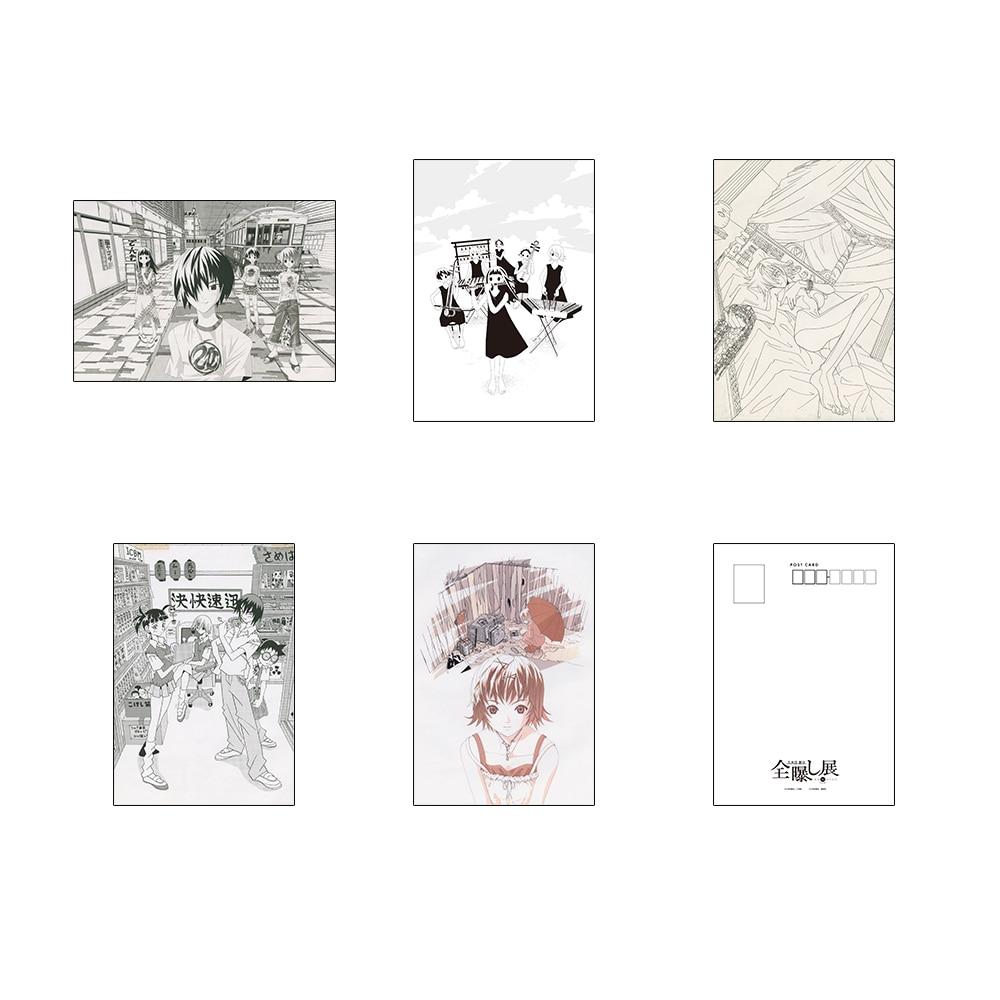 久米田康治『全曝し展』 厳選扉絵ポストカードセット ~かってに改蔵~