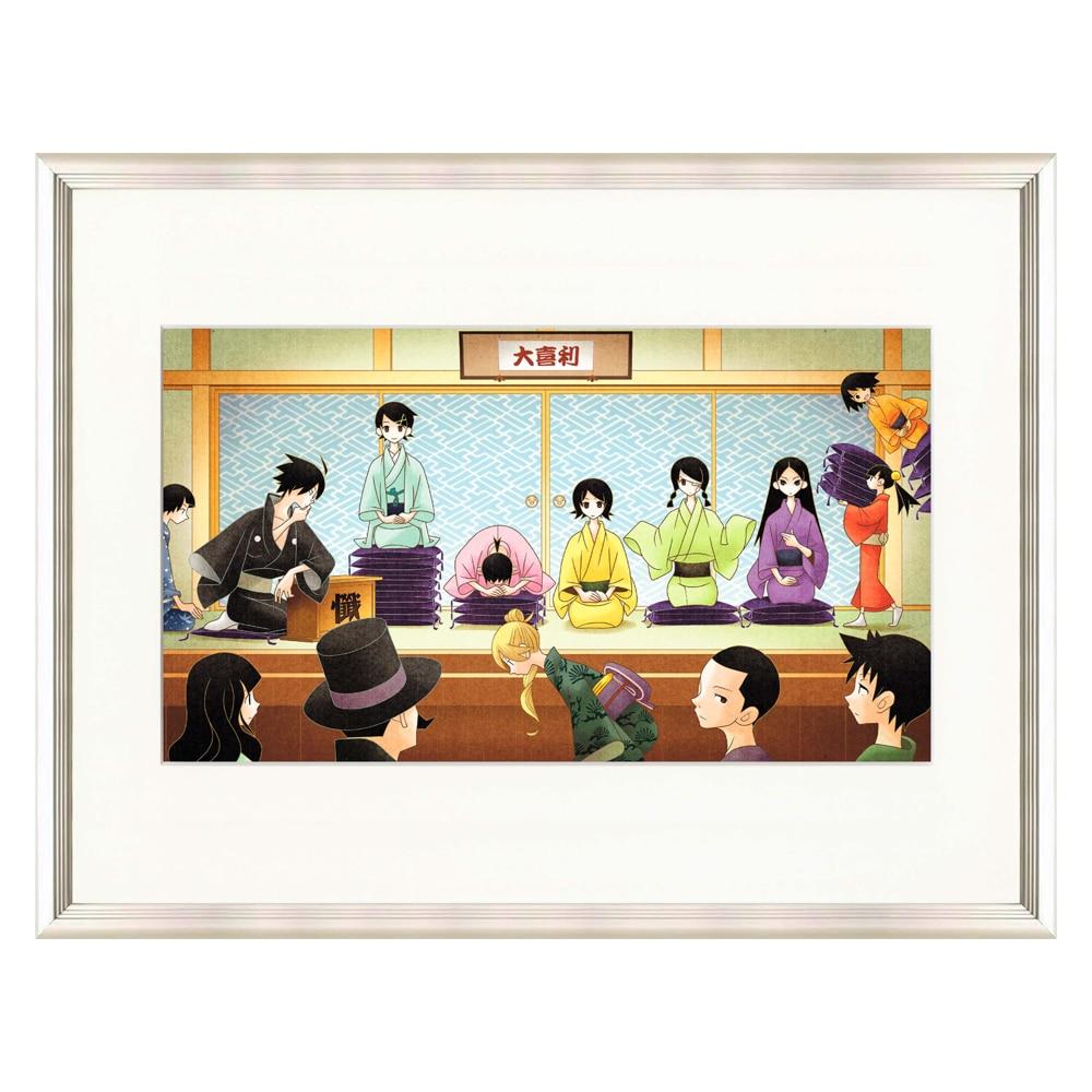 久米田康治『全曝し展』 ミストグラフ ~さよなら絶望先生~