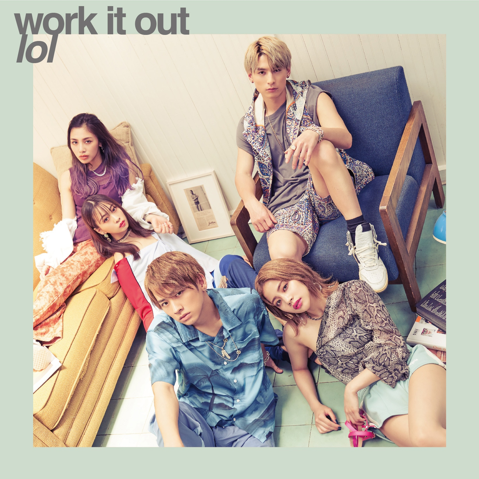 「work it out」