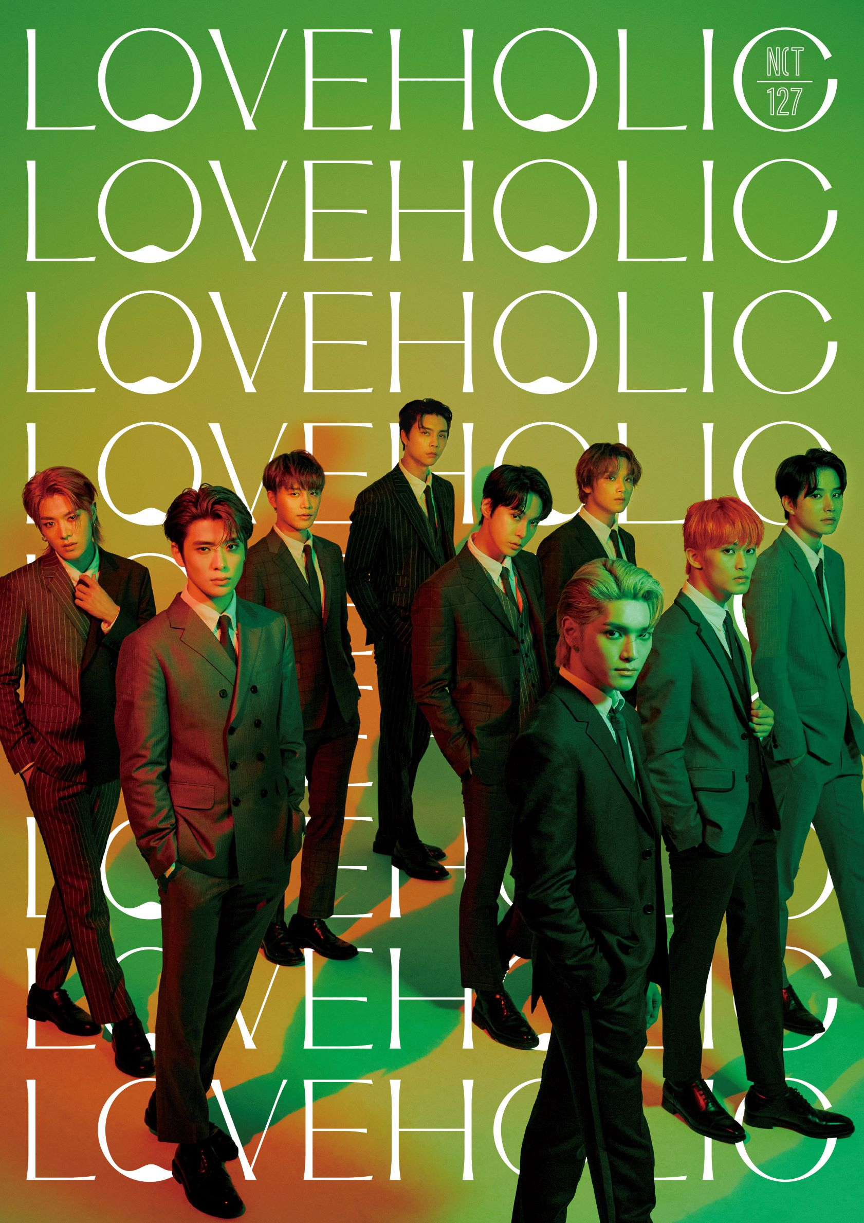 NCT 127 Japan 2nd Mini ALBUM 『LOVEHOLIC』