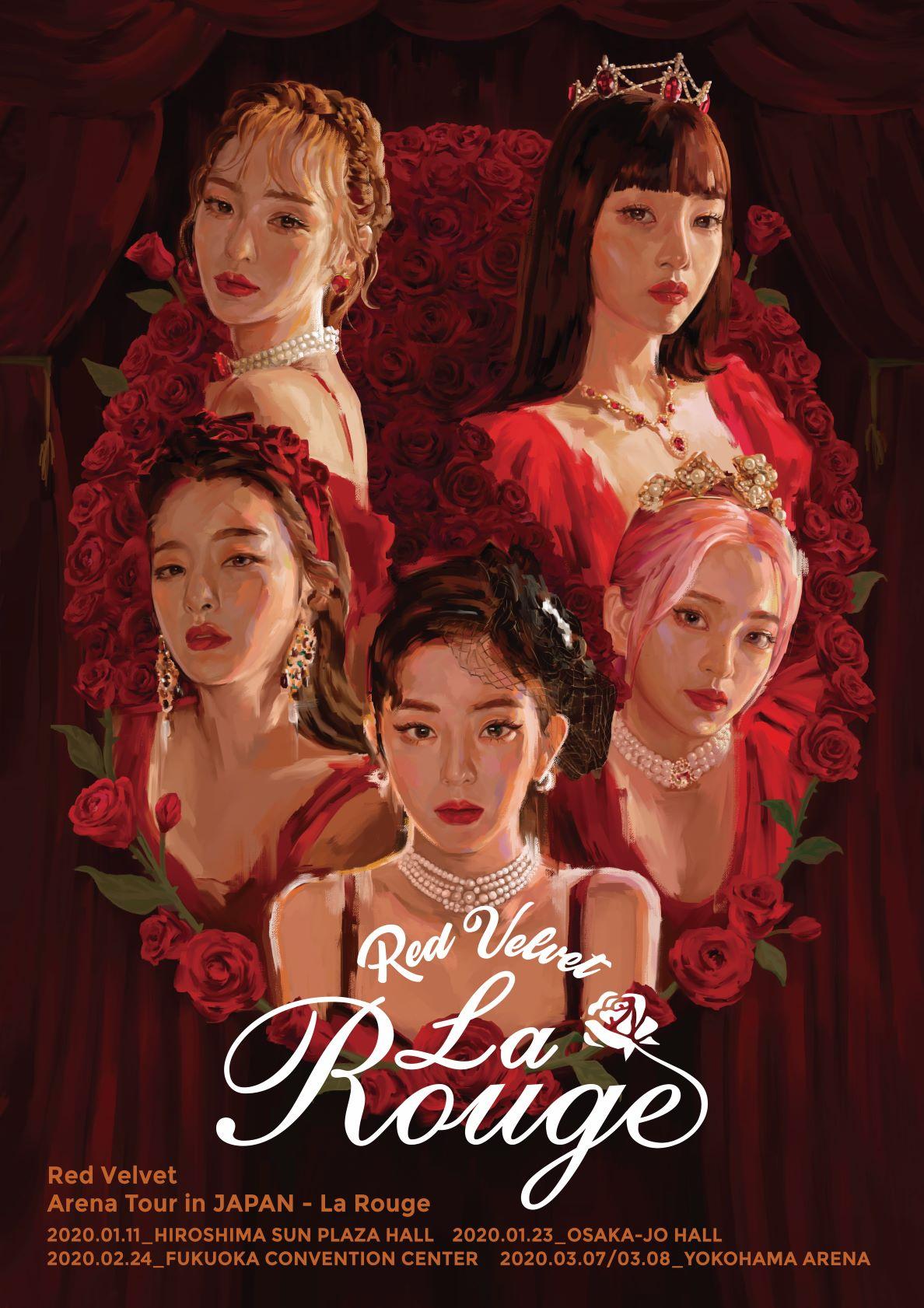 Red Velvet Arena Tour in Japan – La Rouge