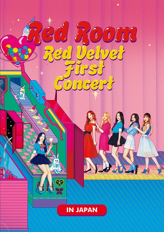 "Red Velvet DVD&Blu-ray「Red Velvet 1st Concert ""Red Room"" in JAPAN」"
