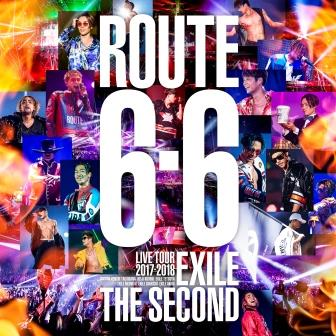 "EXILE THE SECOND LIVE TOUR 2017-2018 ""ROUTE 6・6"" (2DVD)"