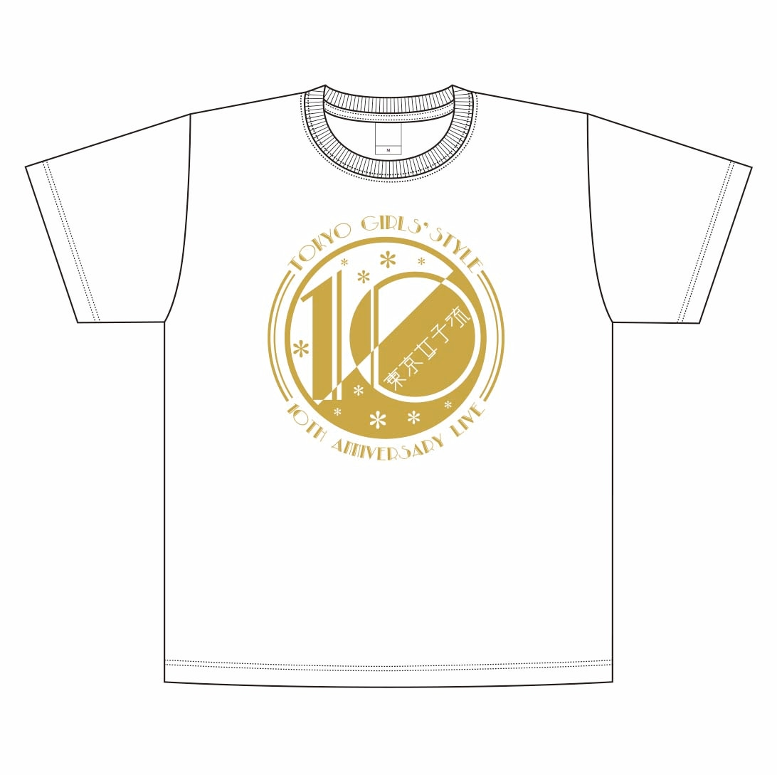 Tシャツ (10th Anniversary Live ver.) <S/M/L/XL/XXL>