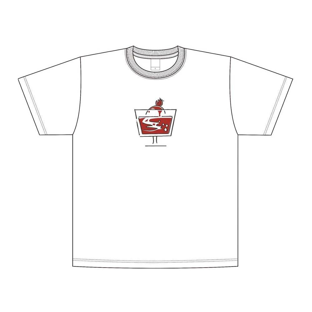 11周年Tシャツ_No. 2 (「ストロベリーフロート」 ver.) <S/M/L/XL/XXL>