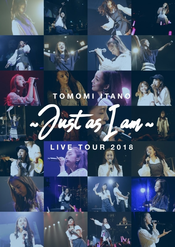 板野友美 LIVE TOUR 2018 ~Just as I am~