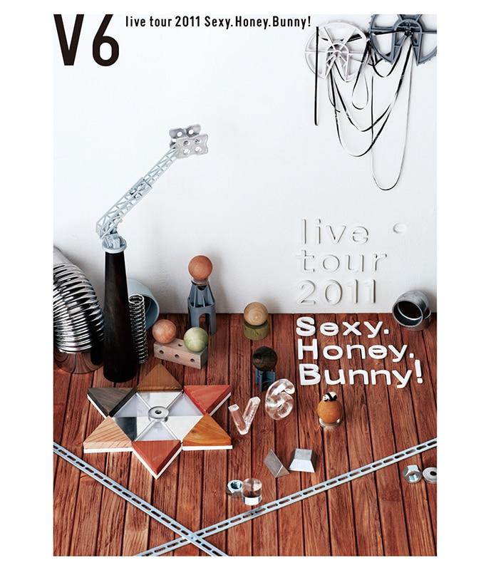 V6 live tour 2011 Sexy.Honey.Bunny!【通常盤 Blu-ray】
