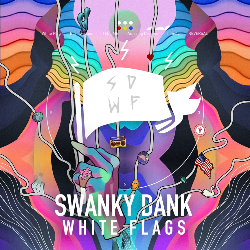 SWANKY DANK『WHITE FLAGS』
