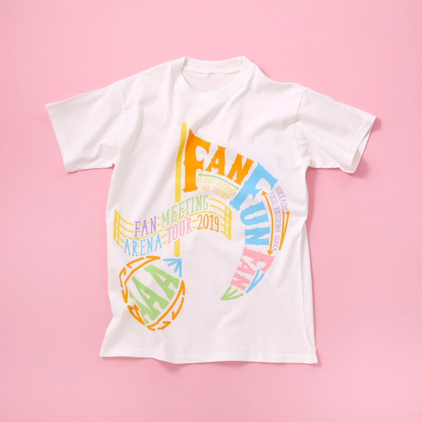 【AAA FAN MEETING ARENA TOUR 2019 ~FAN FUN FAN~】ツアーTシャツ