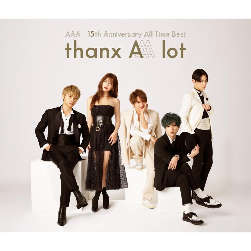 AAA『AAA 15th Anniversary All Time Best -thanx AAA lot-』