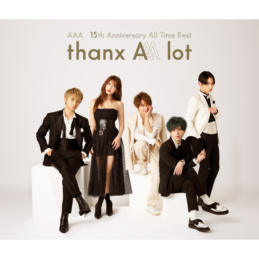 AAA『AAA 15th Anniversary All Time Best -thanx AAA lot-』