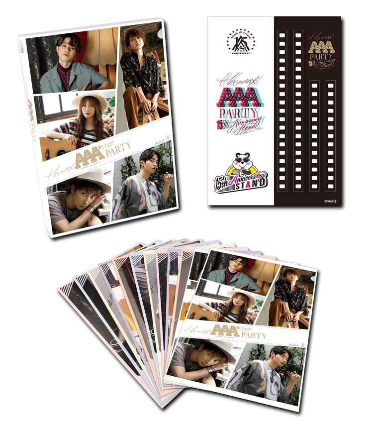 THANX AAA PARTY -15th AnniversAry stAnd-オリジナルグッズ