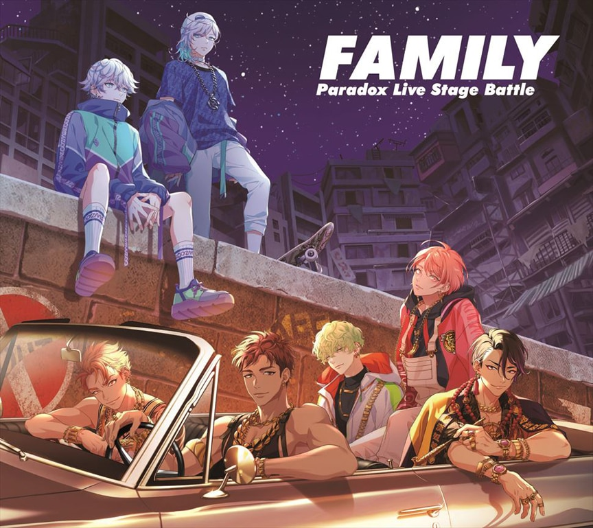 "「Paradox Live Stage Battle ""FAMILY""」"